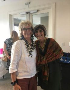 Dr. Jane West standing with Rep. Rosa DeLauro
